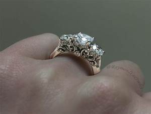 the gallery for gt diamond ring on right hand With wedding ring on right hand