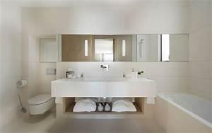 Modern White Bathroom Vanity Decorating Ideas | HouseofPhy.com