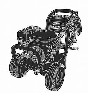 Generac Pressure Washer Model 1417