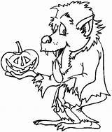 Werewolf Coloring Pages Halloween Goosebumps Slappy Printable Werewolves Print Monster Wolfman Drawing Cute Dracula Pumpkin Card Getcolorings Classic Hotel Visit sketch template