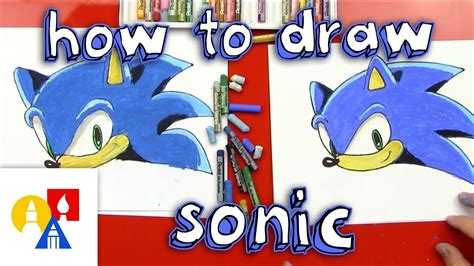 How To Draw Sonic The Hedgehog - YouTube