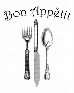 Vintage Knife And Fork Clipart (40+)