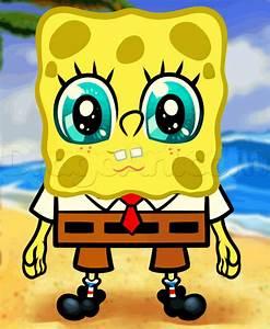 How to Draw Anime SpongeBob, Step by Step, Nickelodeon ...