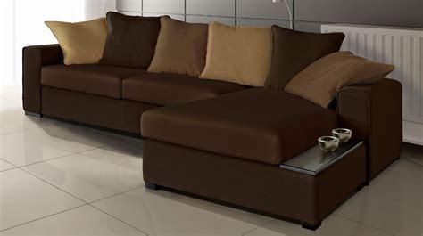 salon canapé marron canapé d 39 angle en tissu marron canapé pas cher
