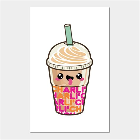 Dunkin' is adding the charli to menus starting today for a limited time, the company stated. Charli D'Amelio iced coffee 3 - Charli Damelio - Posters ...
