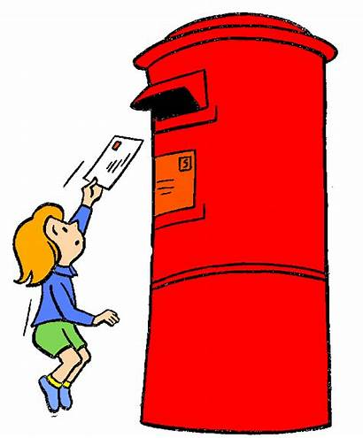 Office Clipart Box Indian Clip Letter Postman