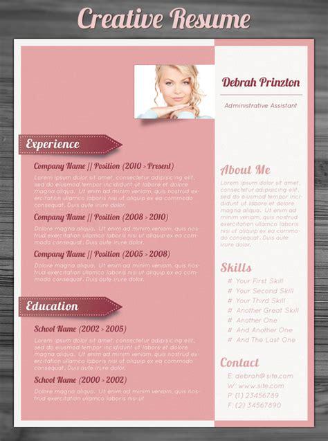 unique resume design templates 21 stunning creative resume templates
