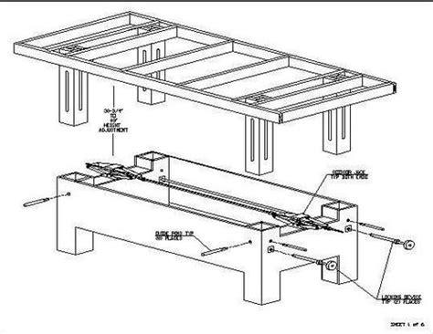 adjustable height wood workbench wood joiners  southampton