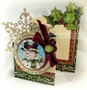 Tri Fold Christmas card