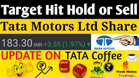 Its current market capitalisation stands at rs 2195.49 cr. Tata Motors Share Price Target Hit New Target for Buyers November Sales Number Update On Tata ...