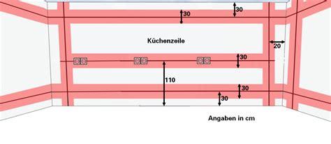 Elektroinstallation Kuche by Installationstipps F 252 R Die Elektroinstallation