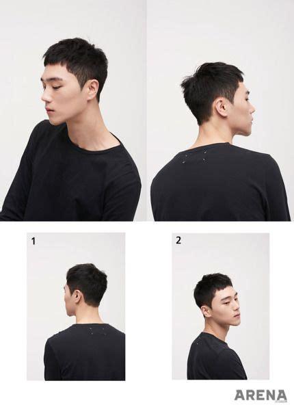 korean men hairstyle trend  food