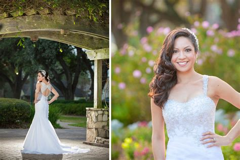 Helens Garden by Bridal Portraits At Helen S Gardens In League City