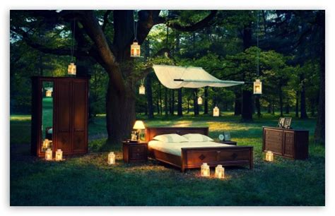outdoor bedroom  hd desktop wallpaper   ultra hd tv