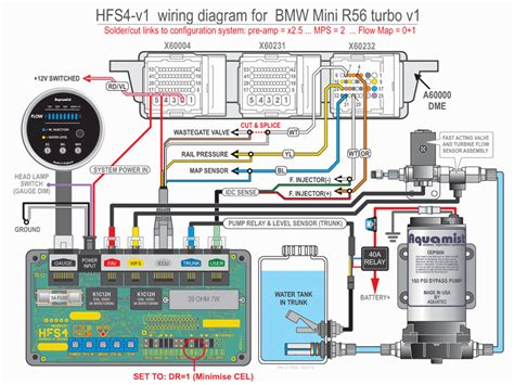 bmw mini r56 usdm wiring waterinjection info