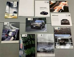 Bmw X5 E53 Owner U0026 39 S Manual Book Owners Guide Set