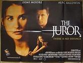 Juror (The) - Original Cinema Movie Poster From ...