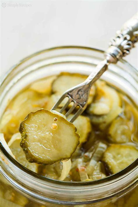 bread and butter pickles bread and butter pickles recipe simplyrecipes com