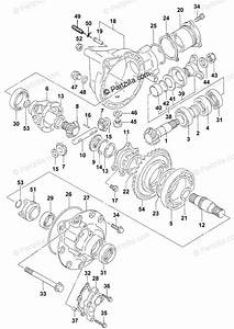 Arctic Cat Atv 2001 Oem Parts Diagram For Differential Gear Assembly  4x4