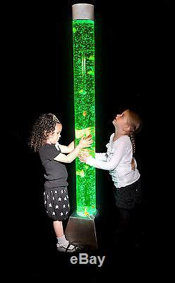 ft colour changing led sensory mood bubble water tower