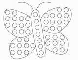 Dot Coloring Pages Bingo Gumball Machine Dauber Butterfly Printable Printables Pre Dots Spring Marker Paper Worksheet Painting Sheets Worksheets Preschool sketch template