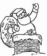 Christmas Coloring Fireplace Father Chimney Pages Drawings Printable Chimneys Santa Colouring Drawing Cliparts Quotes Sheet Library Clipart Getcolorings Clip sketch template