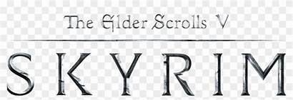 Elder Skyrim Scrolls Clipart Transparent Clear Pikpng