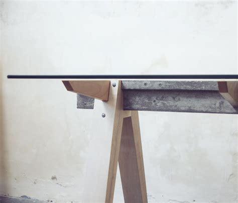 bureau bois verre beam desk 2 0 le bureau bois béton verre studio temper