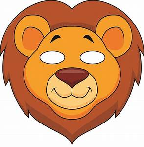 free coloring pages of jungle animal masks With jungle animal mask templates