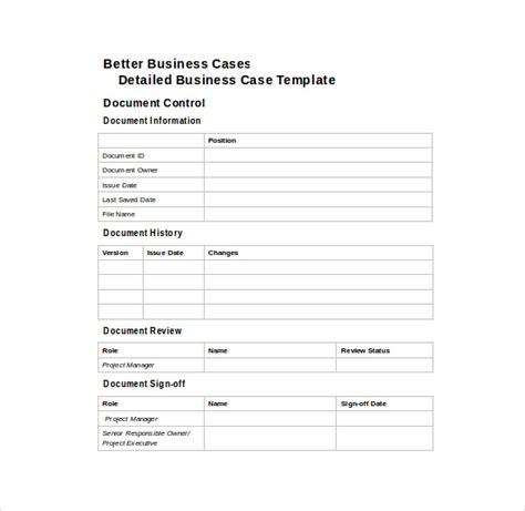 business case template cyberuse