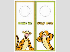 Winnie the Pooh and Friends Printables Disney's World of
