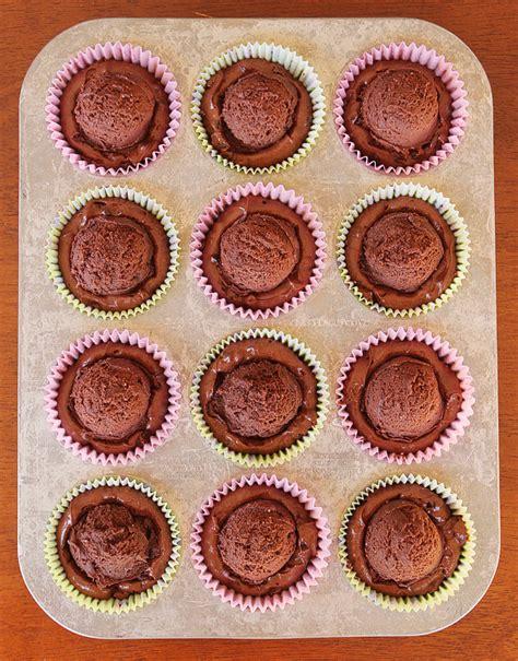 Brownie Batter Chocolate Fudge Cupcakes Kevin And Amanda