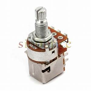 3pcs A500k Coil Tap Push Pull Guitar Potentiometer Switch