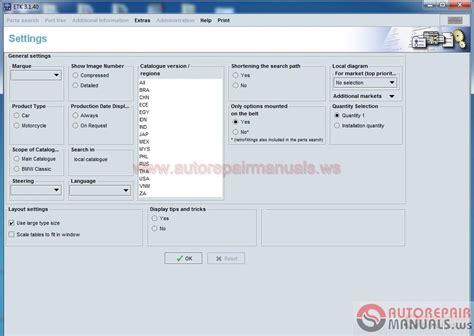 Auto Repair Manuals Bmw Etk Spare Parts Catalog [122016