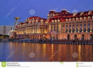 Tianjin City Landscape—Night View Editorial Stock Image ...