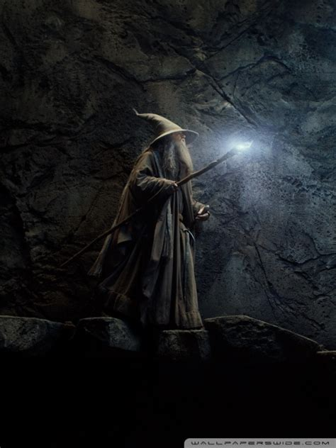 The Hobbit Desolation Of Smaug Gandalf 4k Hd Desktop