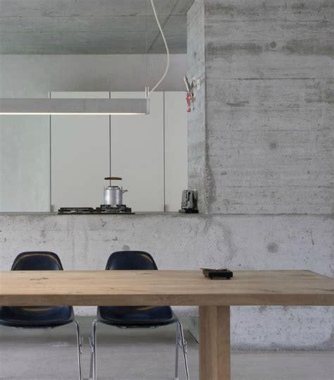 stainless steel kitchen work table island interior design ideas 12 inviting concrete interiors