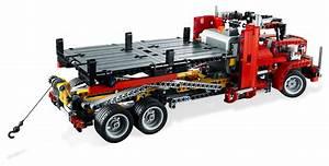 Lego Technic Camion : lego technic 8109 pas cher le camion remorque ~ Nature-et-papiers.com Idées de Décoration
