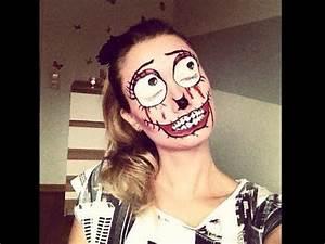 Halloween Make Up Puppe : halloween make up fasching horror doll leileistyle youtube ~ Frokenaadalensverden.com Haus und Dekorationen