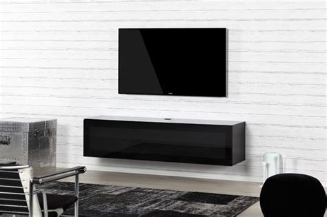 Meuble Tv Infrarouge by Sta160 Noir Verre Infrarouge Meliconi