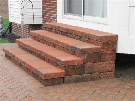 how to prep and build stair for my paver patio diy