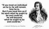 My Johann Wolfgang von Goethe's Favorite Quotes ...