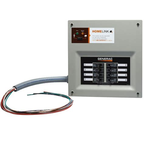 generac upgradeable manual transfer switch   circuits