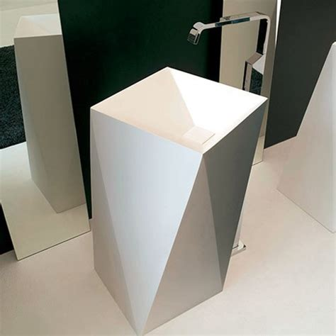 Modern Bathroom Freestanding Sinks by Artceram One Sharp Freestanding Washbasin Modern