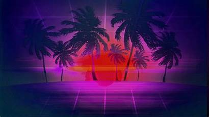 Vaporwave Wave Retro Outrun 1920 Wallpapers Background