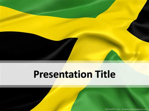 jamaica powerpoint template   powerpoint