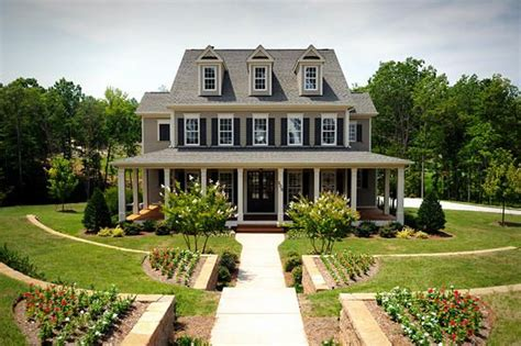 Two Story House With Wrap Around Porch by 2 Story Home With Wrap Around Porch Country Home