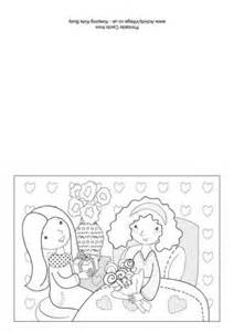 colouring card