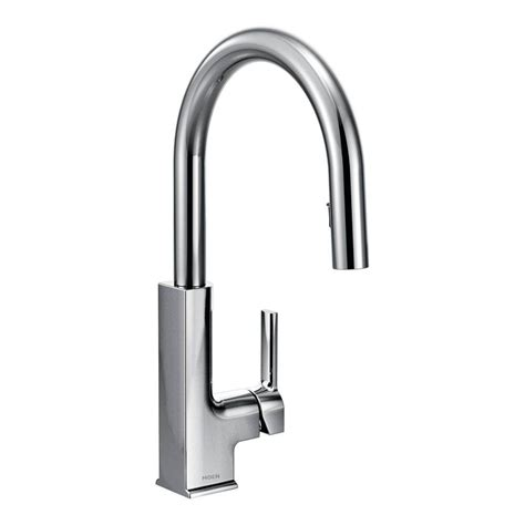 moen single handle kitchen faucets moen brantford single handle pull sprayer kitchen