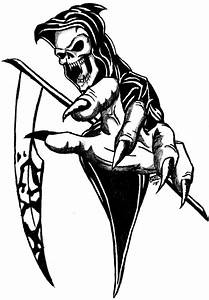 Grim Reaper Tatoo by BD3illustrations on DeviantArt